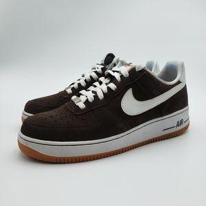Men's Nike Air Force 1 Low Baroque Brown/White Gum